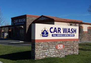 5 Star car wash Vacaville Location