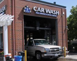 5 Star Car Wash Relax in our Patio Area